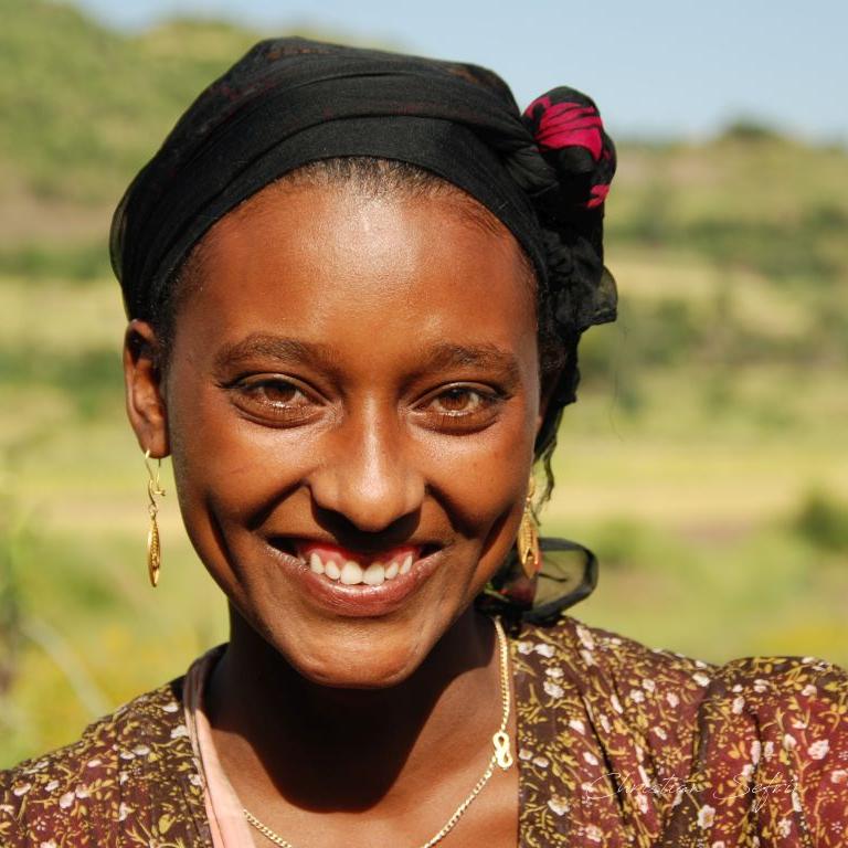 gesicht äthiopien
