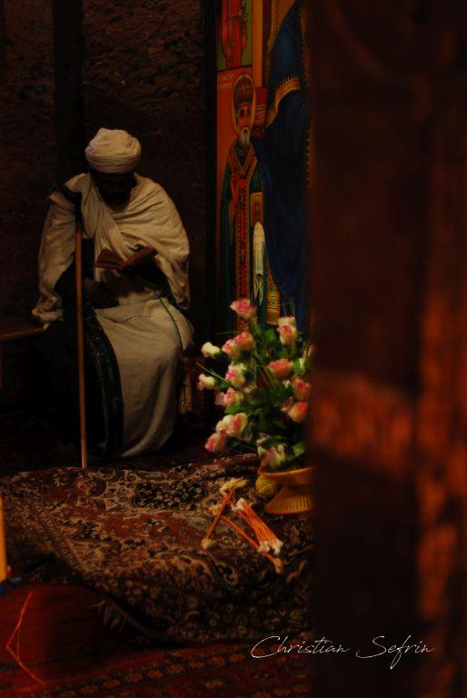 priester lalibela äthiopien