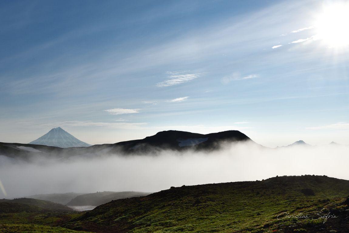 Kamtschatka vulkane