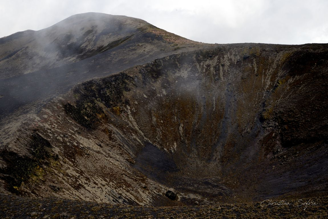 krater mount cameroon nationalpark